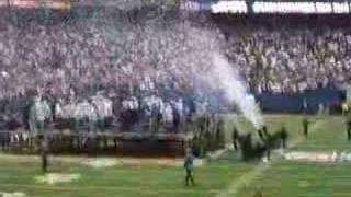 giants superbowl celebration/confetti