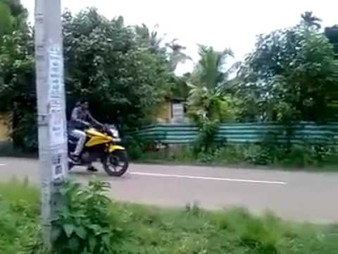 Superbike Stunt Fail!