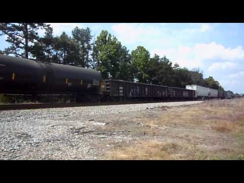 3 trains in 90 minutes around Danville,VA 6/5/11 with a RARE catch!