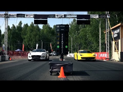 Ferrari 458 Italia, Chevrolet Corvette Z06, Mercedes SL63 AMG (Top 3 fastest stock RWD Super car)