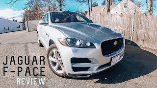 2018 / 2019 JAGUAR F-PACE | Review & Test Drive