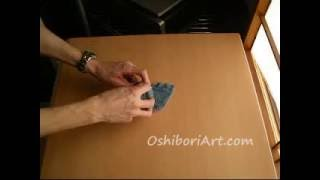 Make An Elephant With Oshibori Origami