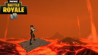 The Floor is Lava Challenge (Fortnite Battle Royale)