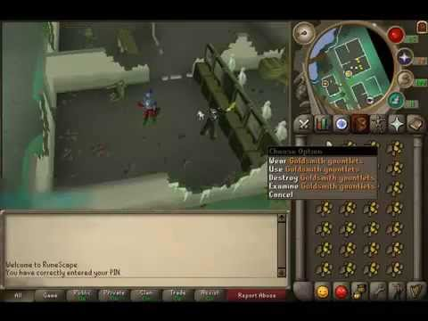 [Ruescape 2007] – Guide To 99 Smithing – 1-99