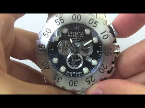 Invicta Watches - Men's 7265 Signature Reserve Leviathan Collection Chronograph Swiss Made Watch