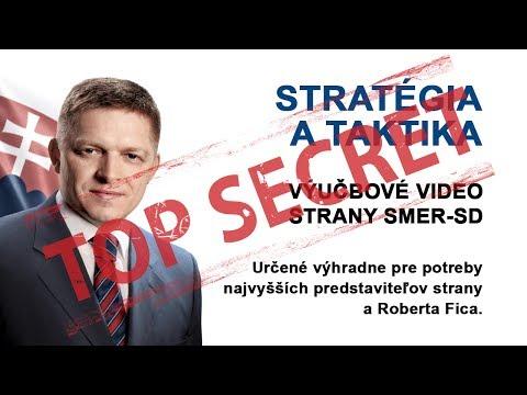 Robert Fico - stratégia a taktika