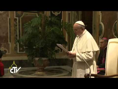 Pope Francis: Never hide our religious identity