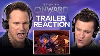 Onward Trailer Reaction | Tom Holland and Chris Pratt