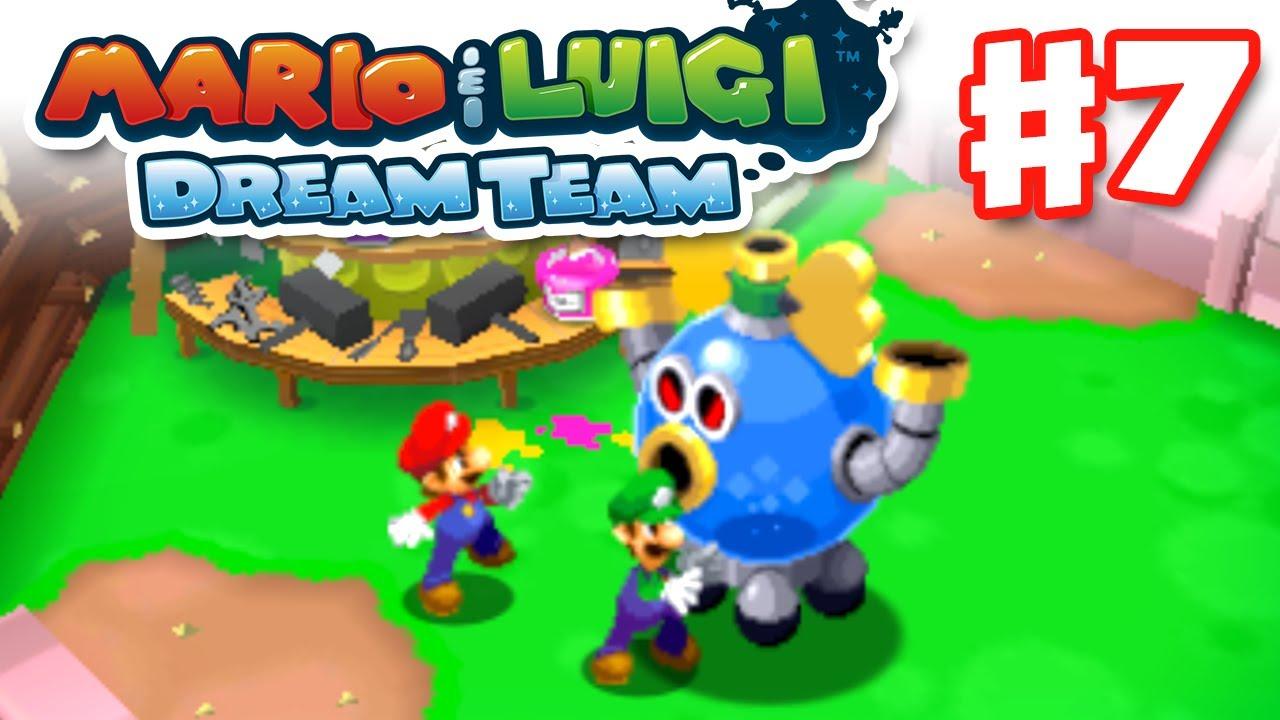 Dream Team Words Mario Luigi Dream Team