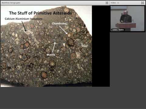 Geology in Space: Meteorites and Cosmic Dust