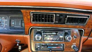 1983 AMC Eagle - Tape Deck Playing at Half Speed