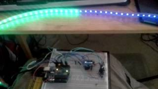 LED controller with OLED display