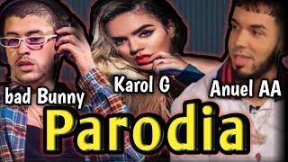 Mis mejores Parodias de  KAROL G, ANUEL AA, BAD BUNNY - SECRETO, BUBALU, NI BIEN NI MAL