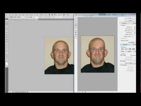 Photoshop Tutorial: How to make things bigger or smaller in Photoshop CS5