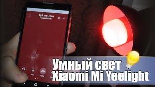 Умная RGB лампочка из китая Xiaomi Mi Yeelight LED. Умный дом.