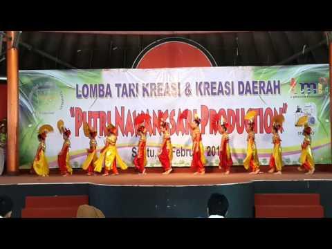 Libel's - Juara 2 Lomba Menari - Tari Kipas Betawi - TMII 27/02/16