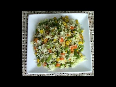 Yummy Rice With Vegetables - ምርጥ ሩዝ በአትክልትና ጥራጥሬ አሰራር