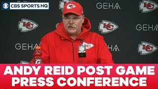 Andy Reid Post Game Press Conference: AFC Divisional Round | CBS Sports HQ