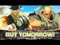 Street Fighter 5 Arcade Edition   G & SAGAT Reveal Trailer (Crowd Reactions) @ 1080p (60ᶠᵖˢ) HD ✔