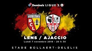 Lens - AC Ajaccio : J-1