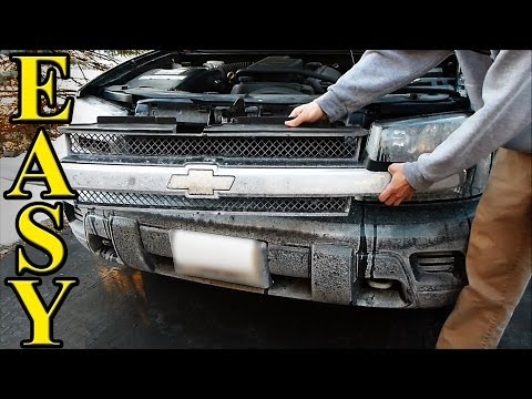 How to change Trailblazer Headlights (fast and easy way)