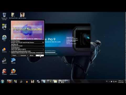 Como descargar, instalar y registrar el Sony Vegas Pro 9