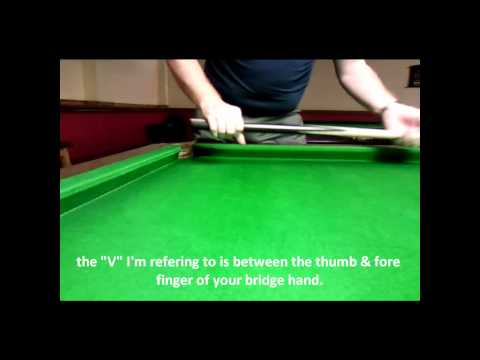 Snooker tips # cueing clinic.wmv