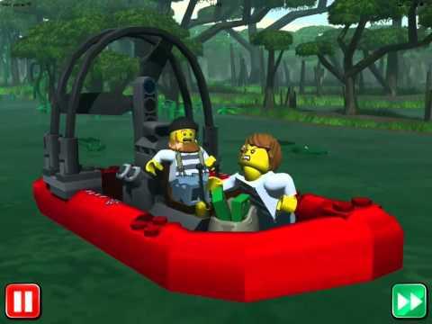 мультик лего сити про лодку