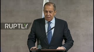 LIVE: Lavrov holds press conference with Lesotho counterpart