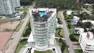 (Drone) así quedó The Grand Hotel después del incendio