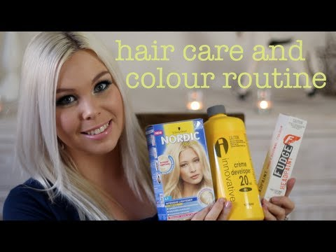 Blonde Hair Care and Colour Routine! ~ Crystal Conte