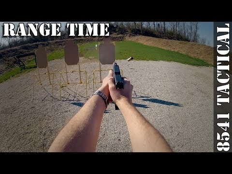 Handgun Range Time (GoPro Hero2 Head Mounted)