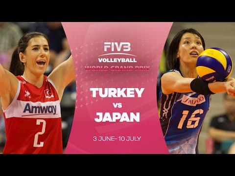 Turkey v Japan highlights - FIVB World Grand Prix