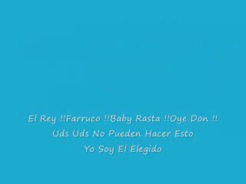Te Ire a Buscar Lyrics - Farruko ft Don Omar & Baby Rasta
