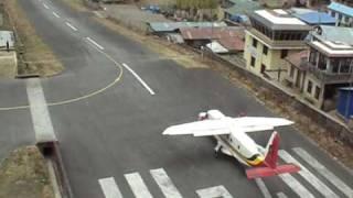 Lukla Airport Nepal 4 take offs