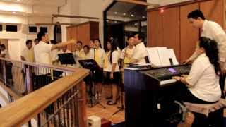 2013 Easter Vigil - Glory to God (Dan Schutte) - ICP Grand Choir