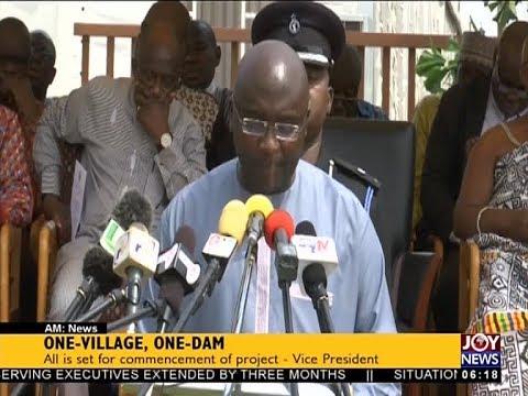 One-Village, One-Dam - AM News on JoyNews (18-12-17)