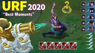 ARURF Best Moments 2020 (URF Aphelios 1v5 Pentakill, Kai'sa 1 HP Outplay...)