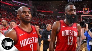 Rockets drama: Chris Paul and James Harden had 'tense moments' during playoffs - report | The Jump