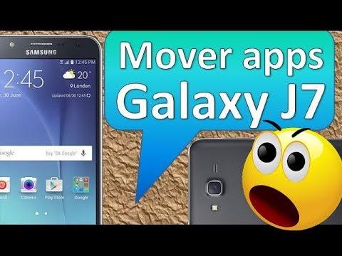 Samsung Galaxy J7 Cómo Poner micro sd y Mover apps a la tarjeta microSD