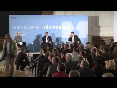 Sigmar Gabriel im Gespräch mit Thomas Piketty (Originalton)