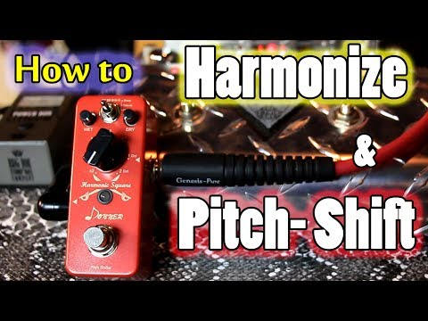 How to use a Harmonizer & Pitch Shifter w the Donner Harmonic Square