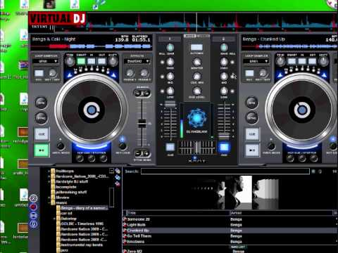 Virtual dj 10 minute mix