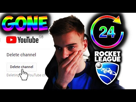 Rocket League Might Delete My Channel In 24 Hours...