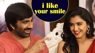 Ravi Teja  Making fun on Malvika Sharma |  Nelaticket Movie |  Raviteja | Malvika Sharma