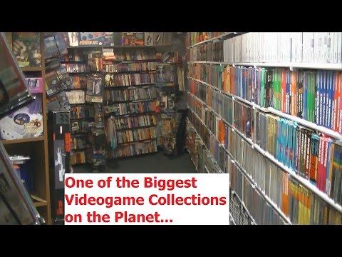Biggest Videogame Collection I've Ever Seen - Adam Koralik