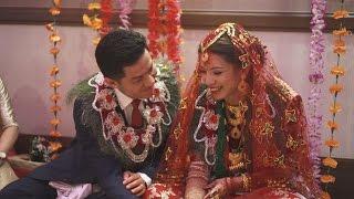 Niroj Weds Apeksha (Nepali Wedding Highlights, UK) Malai Maya Gara
