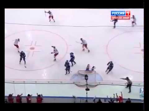 Обзор матча чемпионата мира по хоккею : Россия -Швеция 24.05.2014