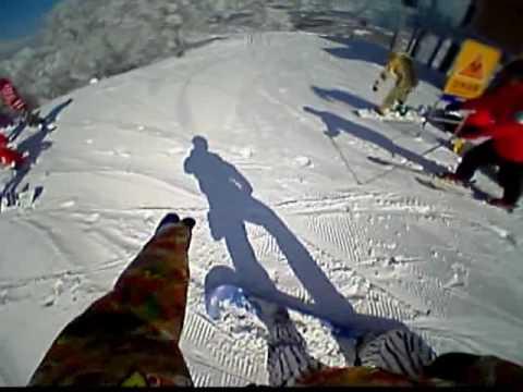 野沢温泉スキー場 やまびこ 2010 3月22日 晴天