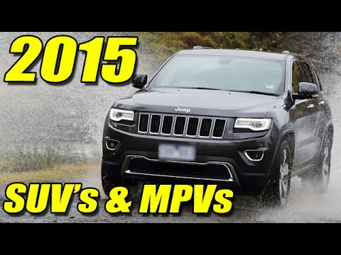 Upcoming SUV & MPV Launches In India 2015 !